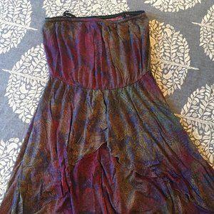 Urban Outfitters Strapless Sun Dress